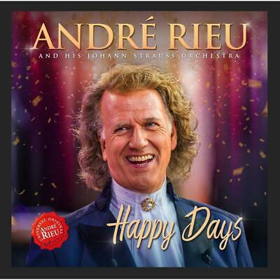 Andre Rieu Happy Days CD & DVD All Regions NTSC NEW