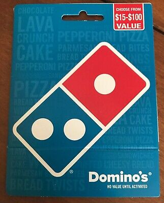 $50 Domino's Gift Card New And Unused