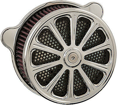 HardDrive Custom Chrome Luck Performance Air Cleaner Assembly F2120C-ACTBW