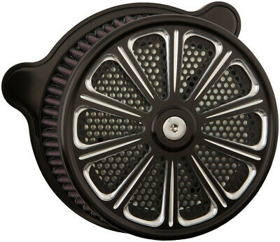 HardDrive Custom Black Luck Performance Air Cleaner Assembly F2120A-ACTBW