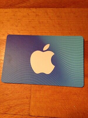 $25 App Store and iTunes Gift Card -- New, Unused Physical Gift Card