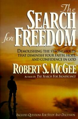 The Search for Freedom by Robert S. McGee Paperback 1995.