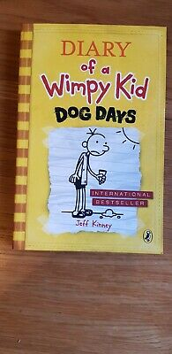 Diary of a Wimpy Kid: Dog Days (Book 4) Paperback by Jeff Kinney