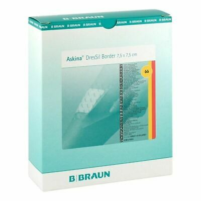 Braun Askina DesSil Border Silicone Dressing 7.5x7.5cm New