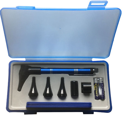 Otoscope Set Ophthalmoscope LED Diagnostic Examination Kit Ear Nose Exam Kit