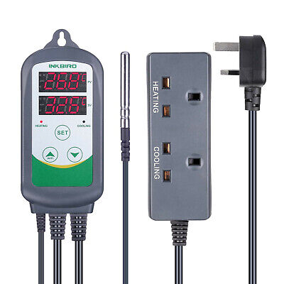 Inkbird ITC308 Digital Temperature Controller Heater Cool Thermostat 220V Wired