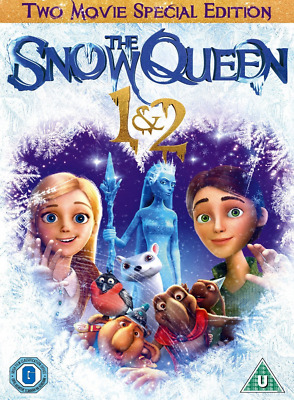 The Snow Queen DVD Collection 1 & 2 (2015)  *BRAND NEW SEALED* UK Z46