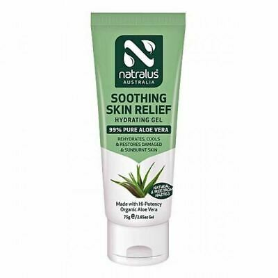 Natralus Australia Soothing Skin Relief Hydrating Gel 75g New