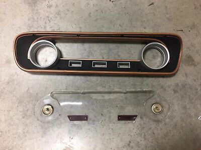 1964-1965 Ford Mustang Speedo Bezel And Facier