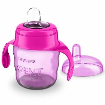 Philips Avent Easysip Spout Cup 70z - PINK New