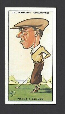 Churchman - Prominent Golfers - #31 Francis Ouimet