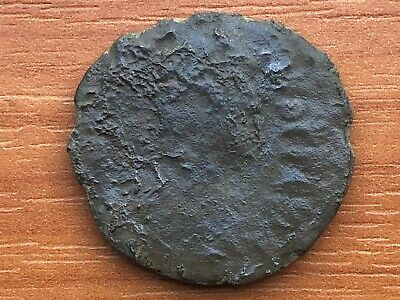 """Justinian I 527-565 AD AE Follis Large """"M"""" Constantinople Ancient Byzantine Coin"""