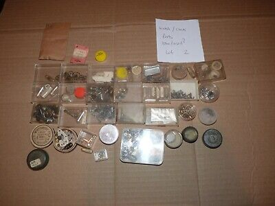 Watch Maker / Clock Parts  Various Items  (Lot Number Two)