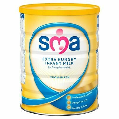 SMA Extra Hungry Infant Milk From Birth 800g New