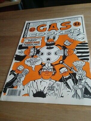 Tales From The Gas Cooker  Comic / Magazine