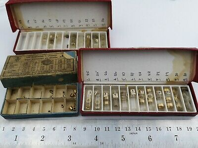 Job Lot Vintage Clock Bushes / Bouchons - Useful Clock Repair Spares (E19)