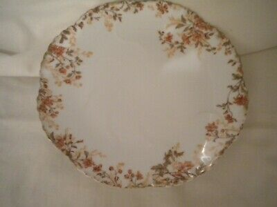 Pretty Handpainted LIMOGES Shell Shaped Cake Plate