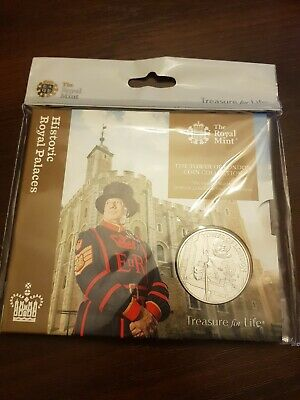 2019 Royal Mint Tower of London, The Yeoman Warders £5 Five Pound BU Coin Pack