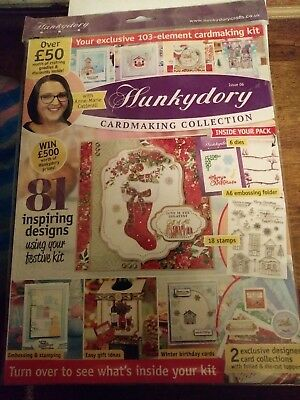 Hunkydory cardmaking collection issue 06 new and sealed