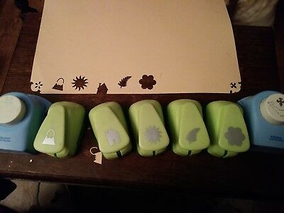 7 woodware craft collection hole punches