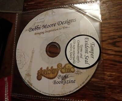 Debbi moore designs shabby chic paris bookazine cd