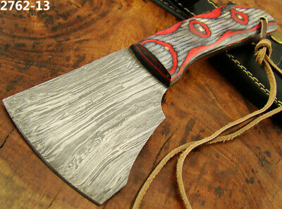 Alistar Uk Handmade Damascus Steel Skiving Knife Leather Craft Tools (2762-13