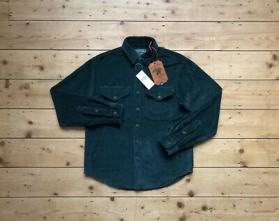 BNWT Ralph Lauren POLO COUNTRY Hunting Workshirt Corduroy Western RL DOUBLE RRL