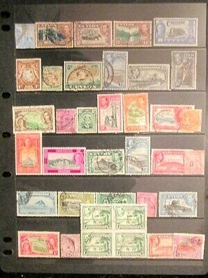BRITISH EMPIRE  QV.-KGVI mixed mint and used lot 5