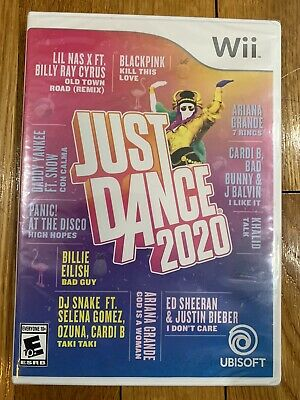 Just Dance 2020 Nintendo Wii 2019 Brand New & Factory Sealed Ships Free Ubisoft