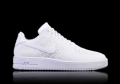 """Nike Air Force 1 Flyknit 2.0 """"Triple White"""" UK 4.5 EUR 37.5 Womens / Youth"""