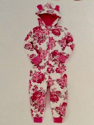 MONSOON Fleece PJs All In One Nightwear Age 12 13 Years BNWT Rrp £45 Next New