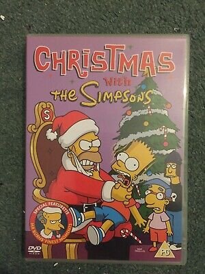 Dvd Christmas With The Simpsons Movie 0 99 Picclick Uk