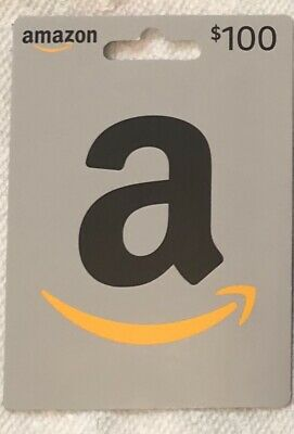$100 Amazon Physical Gift Card Free Shipping