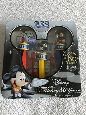 Disney Limited Edition Mickey Mouse 80 Years Pez Collectibles #396449 (MIB)