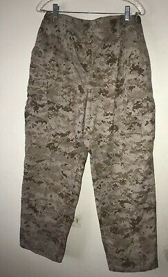 Usmc United States Marines Combat Desert Digital Marpat Pants Med Long Exc