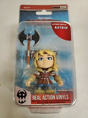 How To Train Your Dragon Wave 2 Action Vinyls: The Loyal Subjects - ASTRID 3/12