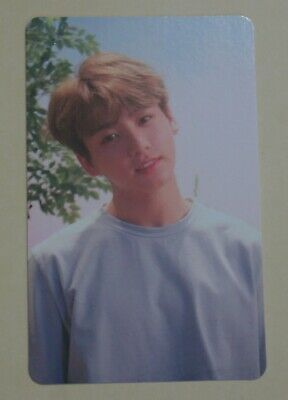 BTS 5th Mini Album Love Yourself HER DNA Official PhotoCard JungKook (O Ver.)