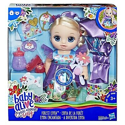 Baby Alive Once Upon a Baby: Forest Tales Forest Emma with Blonde Straight Hair