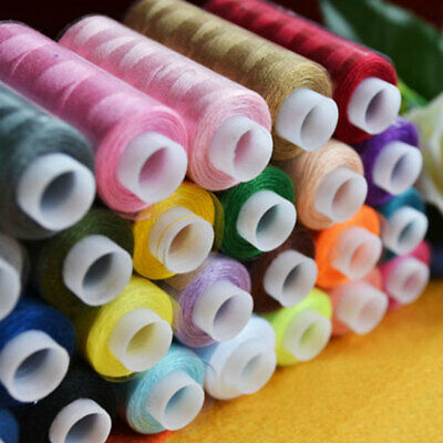 30 Spools 24 Colour Finest Quality Sewing All Purpose 100% Cotton Thread Reel