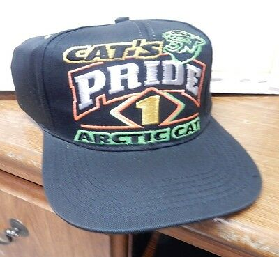 Arctic Cat PRIDE 1 New Old Stock Ball Cap Hat Snowmobile Motorcycle Unused
