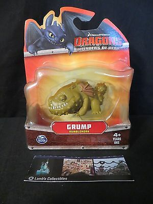 Grump Rumblehorn How to Train Your Dragon Mini Action figure Defenders of Berk