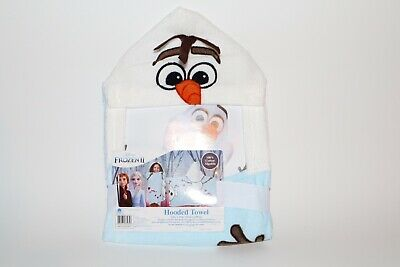 "Frozen II Olaf hooded towel wrap 100% Cotton Hooded Towel Towel 22"" x 51"""