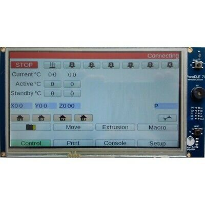 Genuine Duet 2 3D PanelDue - Integrated LCD TFT