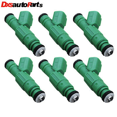 Genuine Bosch Set Of 6 Fuel Injectors for Caravan Town /& Country Voyager 3.3L