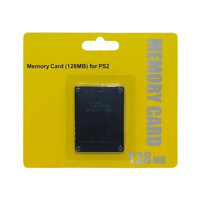 128MB Memory Card Save Game Data Stick Module for Playstation2 PS2 AU