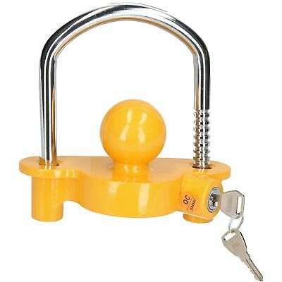 Trailer Ball Hitch Lock Security Coupling For Caravan Trailers Lock 50mm Ball