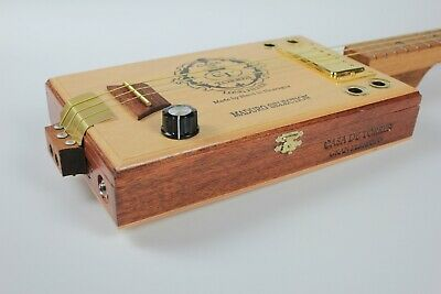 "Cigarbox Gitarre | "" El Gordo "" 