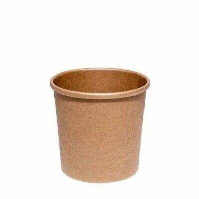 12oz Brown Soup Container