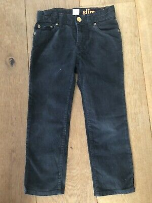 Crewcuts Black Cord Jeans (Similar to Boden) - 4 Years