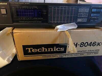 Technics Stereo Graphic Equalizer SH-8046